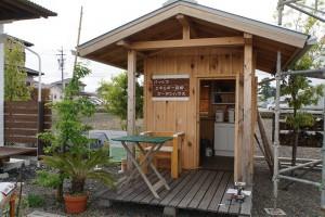 エネルギー自給型の小屋