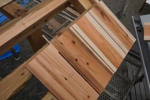 板と板の隙間もきっちり計測